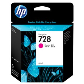 F9J62A Cartuccia HP 728 Magenta 40 ml