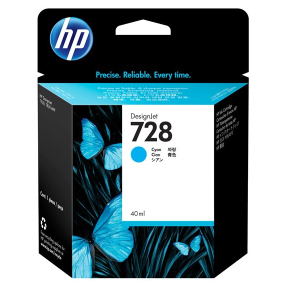 F9J63A Cartuccia HP 728 Ciano 40ml