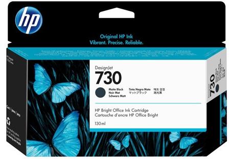 P2V65A Cartuccia HP 730 Nero Opaco 130ml
