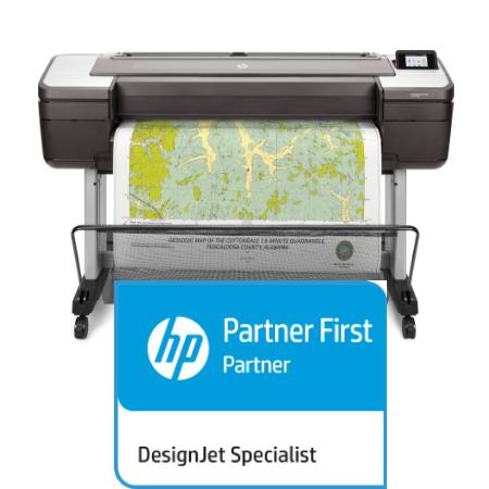 HP Designjet T1700dr