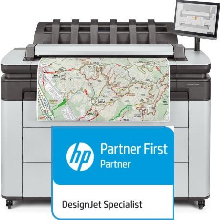 HP Designjet XL 3600dr MFP 6KD25H