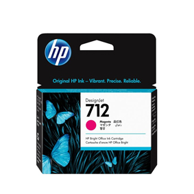 3ED68A Cartuccia HP 712 Magenta 29 ml