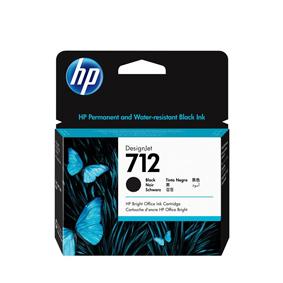 3ED71A Cartuccia HP 712 Nero 80 ml