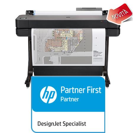 HP Plotter Designjet T630_A0_Novità