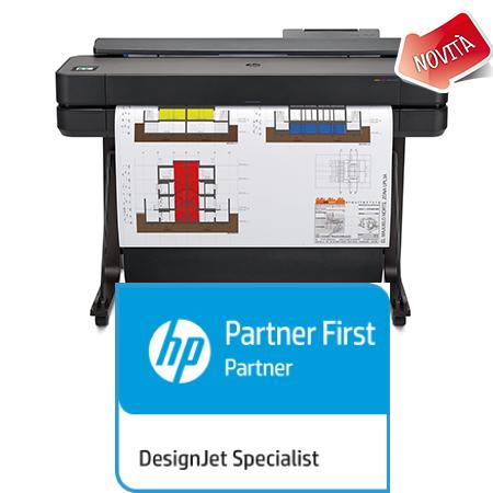 HP Plotter Designjet T650_A0_Novità