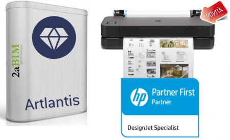 Artlantis e HP T230